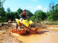 ATV Quad Bike Tour Activity Phuket Mud