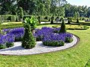 Wilanow Palace, gardens, warsaw, palace