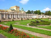 gardens, Wilanow Palace, poland, warsaw