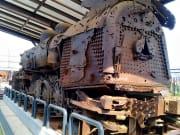 Rusted train at Imjingak