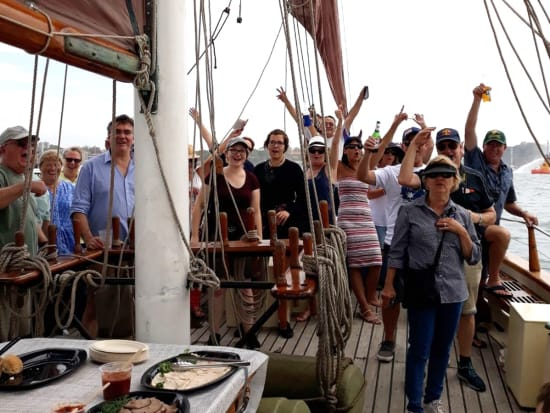 Australia Day Tall Ship Cruise in Sydney Harbour
