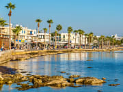 paphos, cyprus, pafos, shore