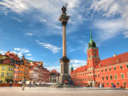 warsaw, royal castle square, old town