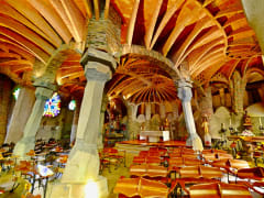 Spain, Barcelona, Colonia Guell