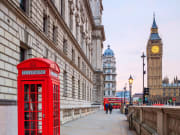 London, Big Ben, Telephone booth