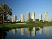 Emirates Golf Club Majlis 7th
