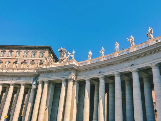 Italy, St. Peter's Square, Vatican City