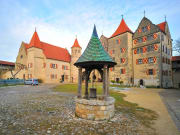 Harburg Castle, Romantic Road, Germany