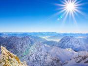 Zugspitze, Top view