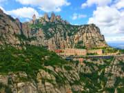 montserrat, monastery, barcelona -u