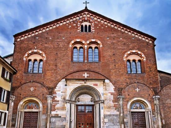 Italy, Milan, Basilica San Simpliciano
