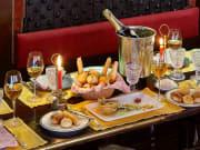 la-caravella, restaurant, venice, dinner, candlelit