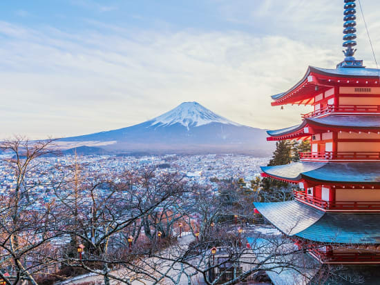 Japan_Yamanashi_Arakura_Mountain_Arakurayama_Sengen_Park_winter_sunset_shutterstock_1027424146