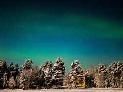 finland, northern lights, aurora