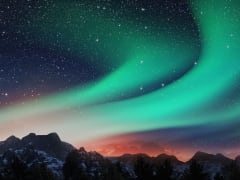 iceland, aurora borealis, northern lights