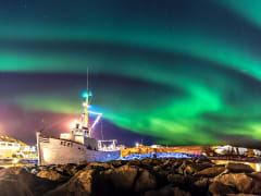 Iceland, Northern Lights, boat cruise
