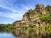 Approaching Beynac on the River Dordogne