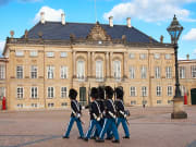 amalienborg palace, changing of the guard