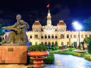 Vietnam_City_Hall_Night_shutterstock_152031851