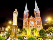 Vietnam_Cathedral_of_Saigon_Night_shutterstock_152740649