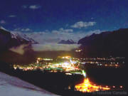Banff-Night-View-Winter
