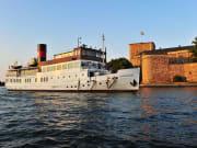 Kastellet, SS-Stockholm, boat cruise, vaxholm