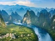 Li River Cruise Guilin karts Scenery