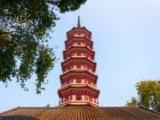 Buddhist Temple The Six Banyan Pagoda Guangzhou