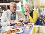Tapas, Senior Couple
