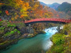 Japan_Tochigi_Nikko_Shinkyo Bridge_autumn_fall_shutterstock_715589527