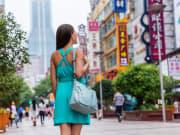 Go shopping at Nanjing Road