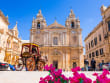 Malta_Mdina_St Pauls Cathedral_shutterstock_746284060