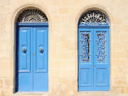 Malta_Three Cities_Vittoriosa_ traditional doorsshutterstock_1245171673