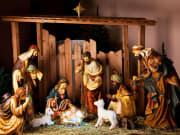 Christmas, Nativity Scene, Manger