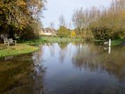 Shill Brook at Shilton Oxfordshire