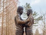 Winter Sonata Statue in Nami Island
