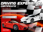Driving Experience Certificate