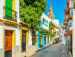 Spain_Andalusia_Cordoba_Jewish Quarter with Mosque Cathedral_shutterstock_1514178038