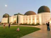 USA_Los Angeles_Griffith Observatory_Hike_Sunset