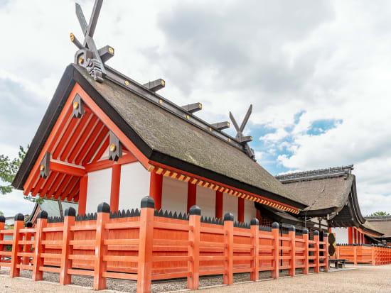 Osaka, Sumiyoshi Shrine, Winter