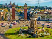Spain_Barcelona_Plaza de Espana_shutterstock_617635292