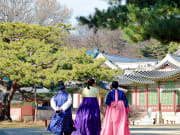 Changdeokgung Palace with Hanbok Wearing (2)