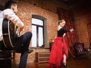 Spain, Flamenco, Dancer, Guitarist