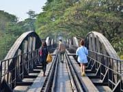 Death Railway in Kanchanaburi River Kwai Bridge