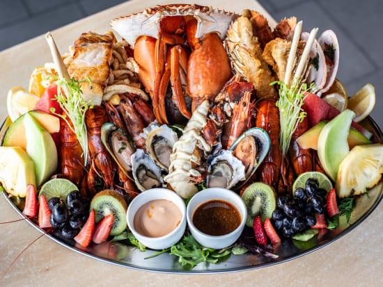 Seafood platter 1