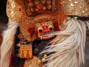 Bali Art Centre Barong Dance Costume Indonesia