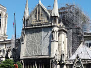 notre dame cathedral after fire