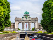 View of Arcade and Tunnel of Cinquantenaire - Brussels