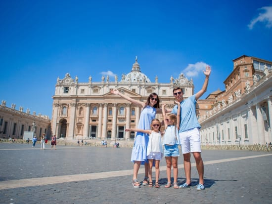 st peters square, family