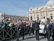 papal audience tickets, pope francis